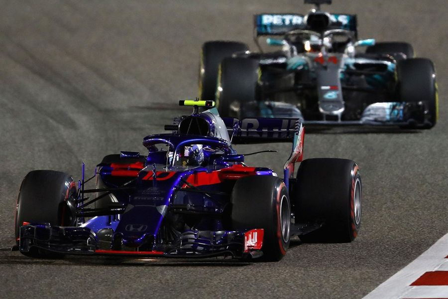 Pierre Gasly (Toro Rosso) finished in the fourth place