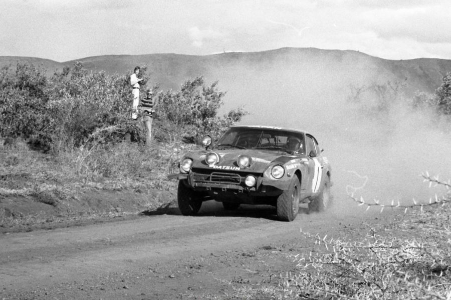 Shekhar Mehta at 1973 Safari Rally