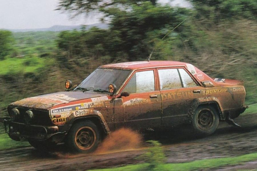Shekhar Mehta at 1981 Safari Rally