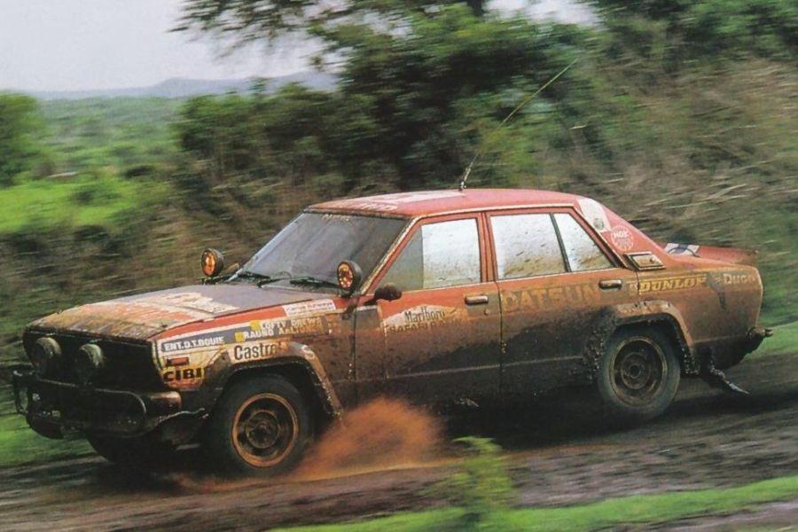 Shekhar Mehta at 1981 Safari Rally