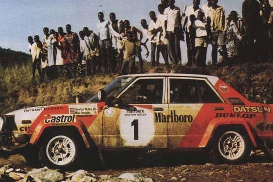 Shekhar Mehta at 1982 Safari Rally
