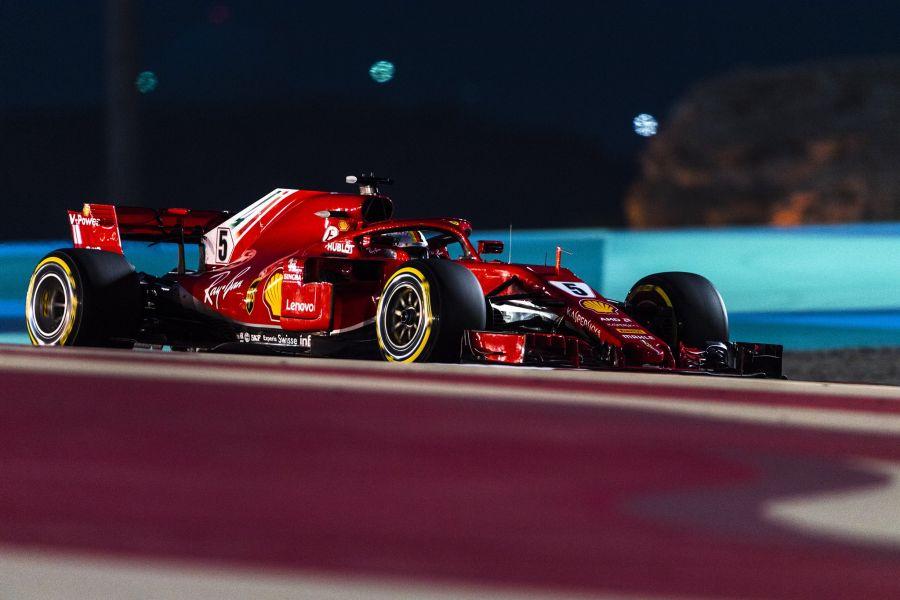 Sebastian Vettel, Bahrain Grand Prix