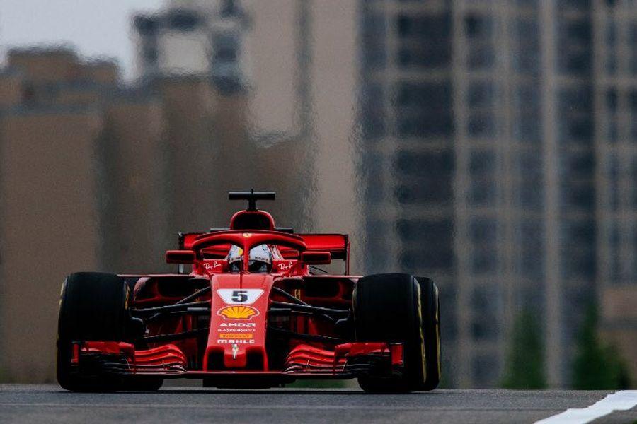Sebastian Vettel, Chinese Grand Prix
