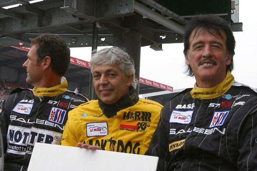 Walter Brun with Toni Seiler and Franz Konrad at 2003 Le Mans