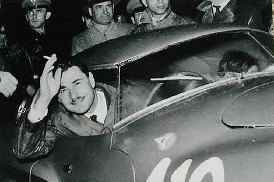 Italian racing great Giannino Marzotto