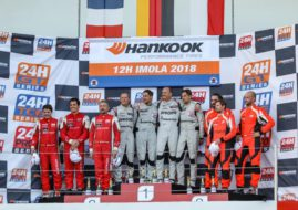 24H Series, 12 Hours of Imola podium