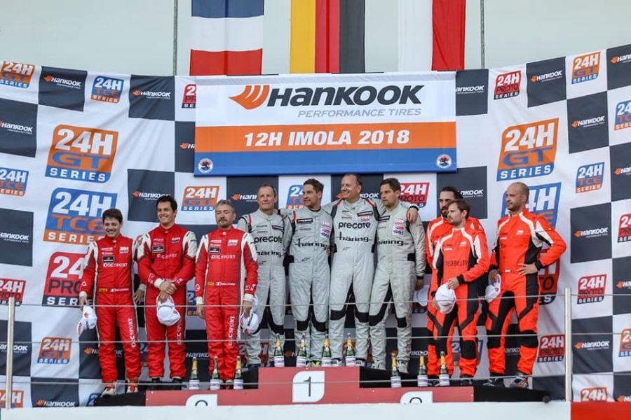 24H Series, 12 Hours of Imola podium