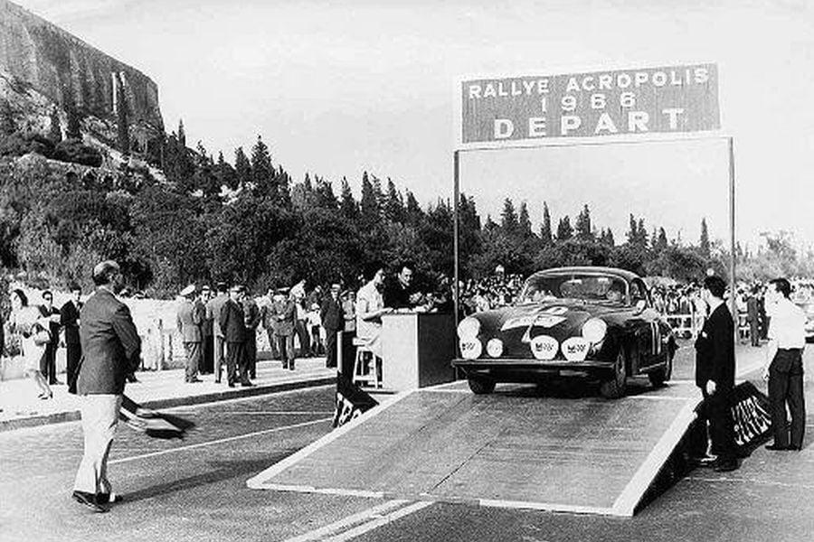 1966 Rally Acropolis