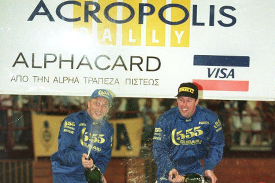 Colin McRae 1996 Acropolis Rally
