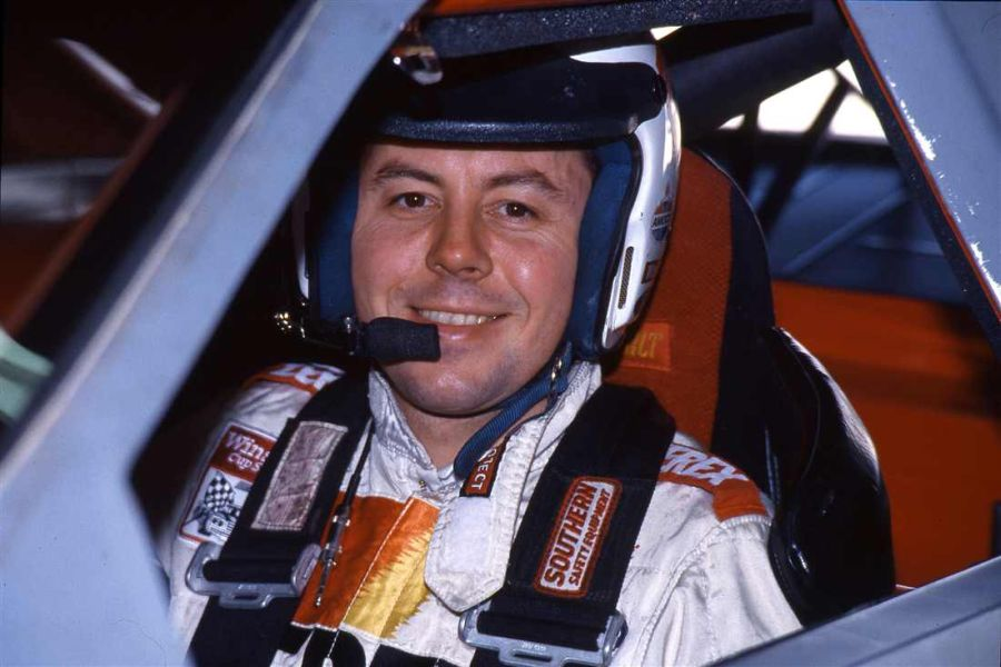 Alan Kulwicki - the 1992 Winston Cup champion whose trademark was a Polish victory lap