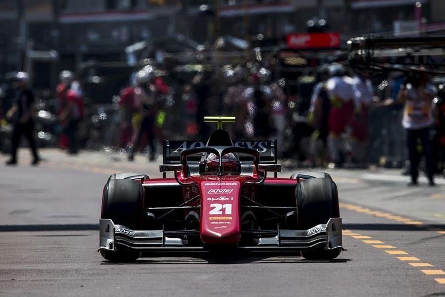 Antonio Fuoco, Formula 2 Monaco