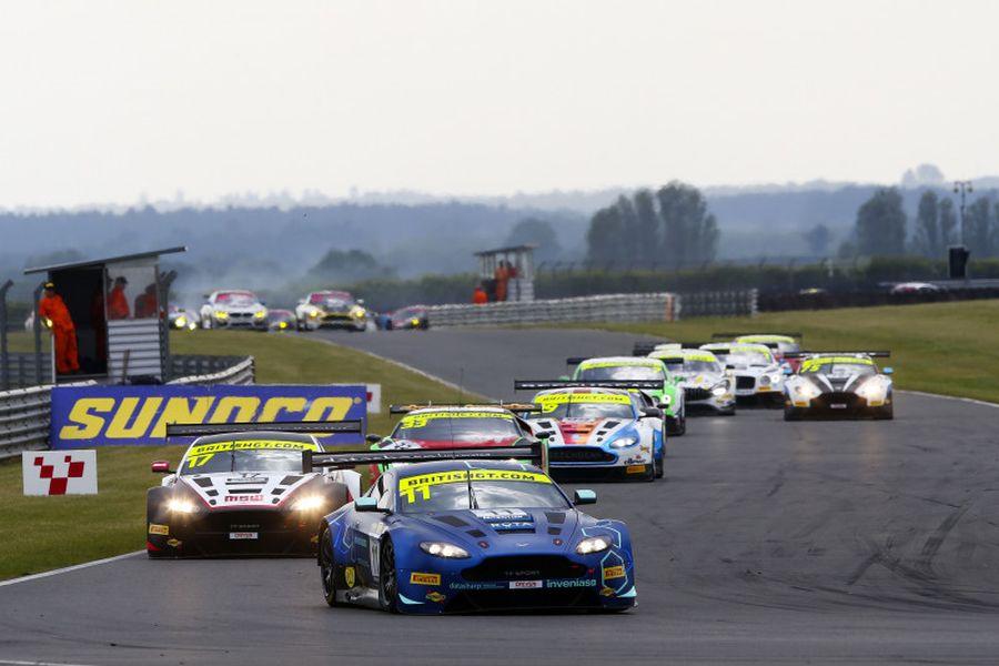 British GT Snetterton, TF Sport Aston Martin