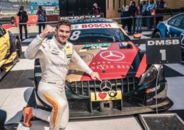 Edoardo Mortara wins at Lausitzring