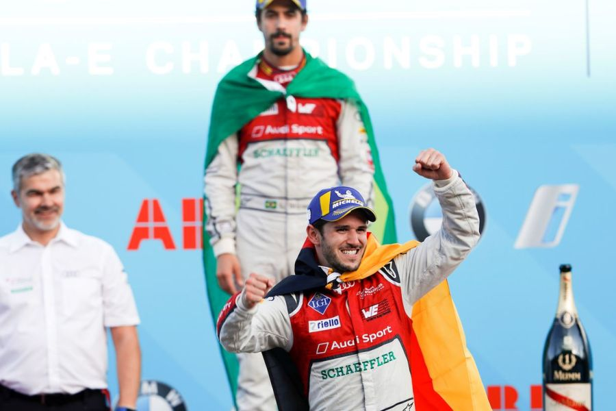 Daniel Abt wins Berlin ePrix