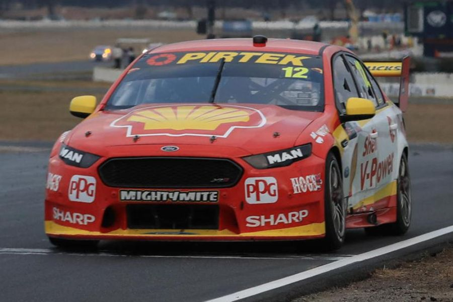 Fabian Coulthard's #12 Ford Falcon