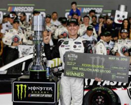 Kevin Harvick wins NASCAR All-Star Race, earns $1 million