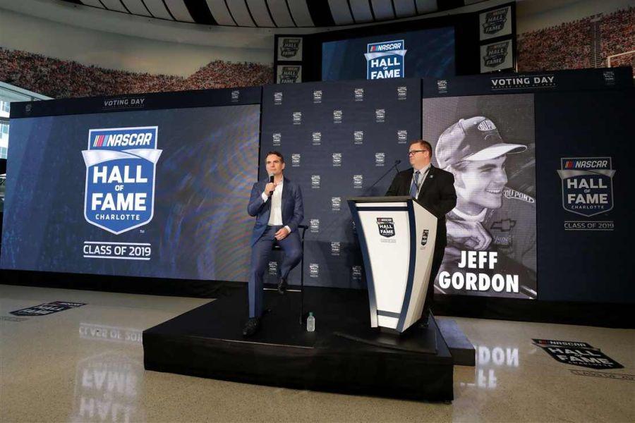 NASCAR Hall of Fame Jeff Gordon