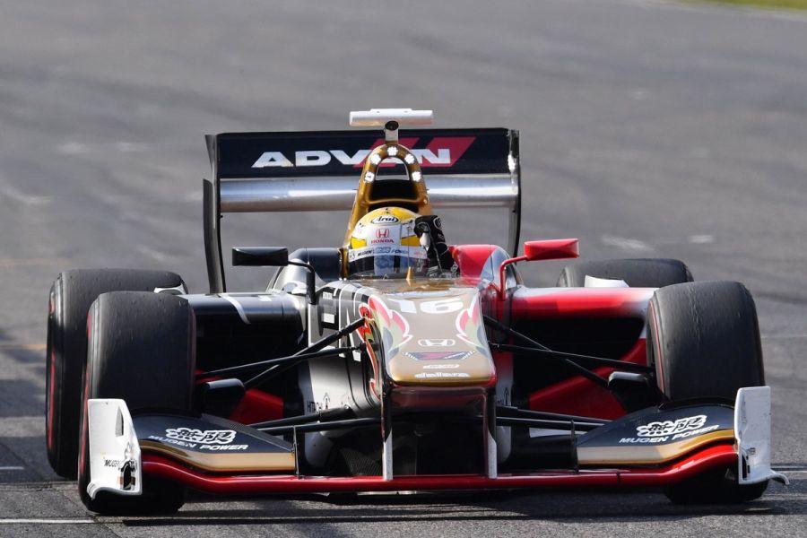 Naoki Yamamoto's #16 Honda