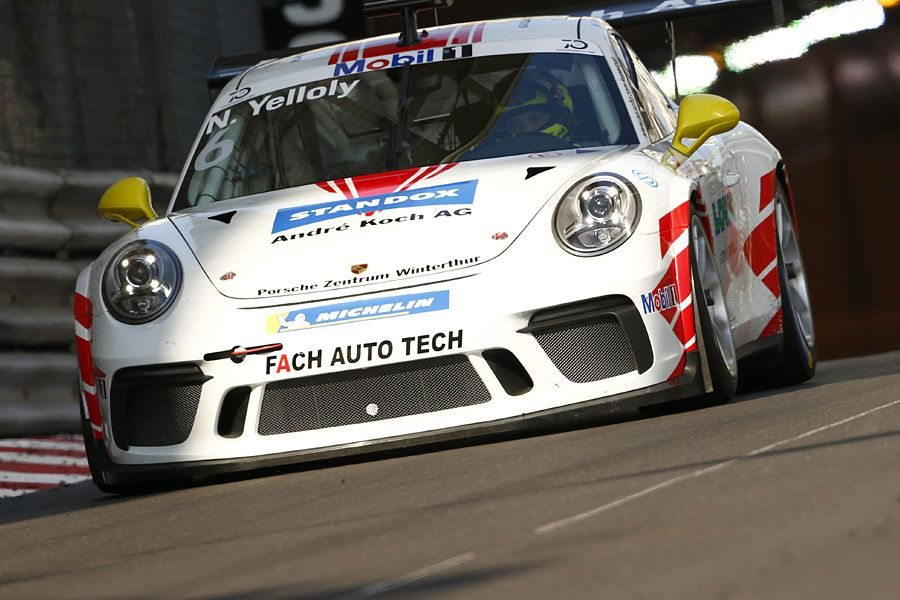 Nick Yelloly, Porsche Supercup, Monaco