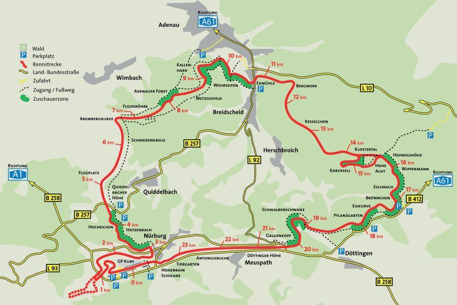 Nürburgring Nordschleife circuit
