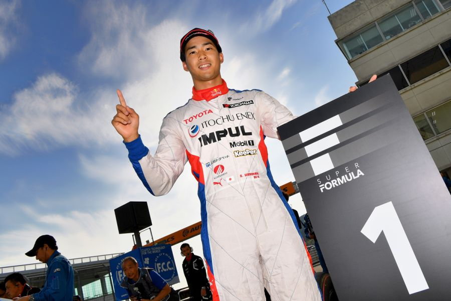 Ryo Hirakawa was the fastest qualifier at Autopolis