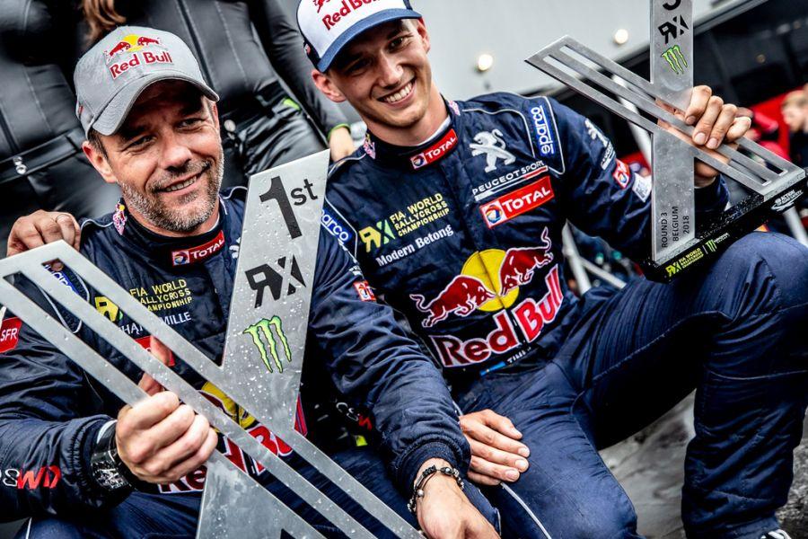World RX Belgium, Seb Loeb, Timmy Hansen