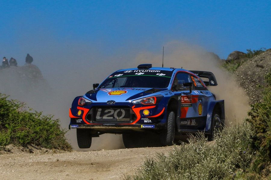 2018 Rally de Portugal, Thierry Neuville, Hyundai i20 Coupe WRC