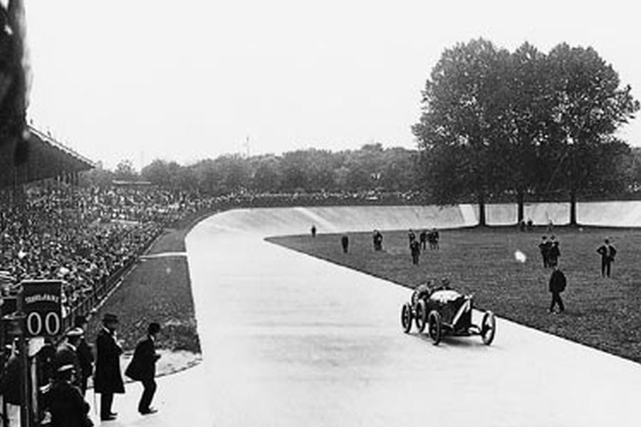French Grand Prix at Dieppe circuit