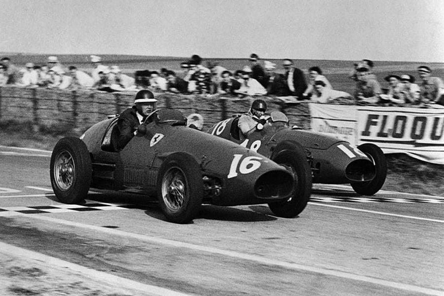1953 French Grand Prix, Mike Hawthorn, Juan Manuel Fangio