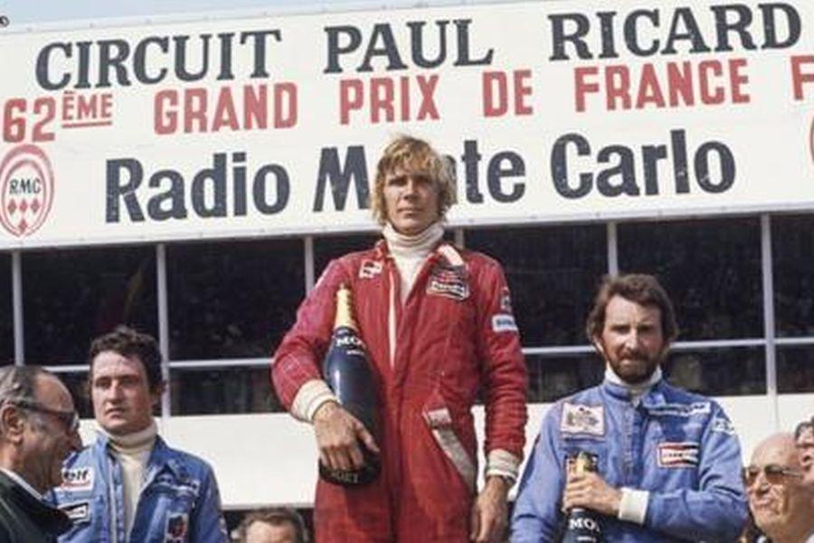 1976 French Grand Prix: Patrick Depailler, James Hunt, John Watson