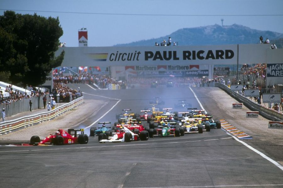 The 1990 French Grand Prix was the last at Circuit Paul Ricard