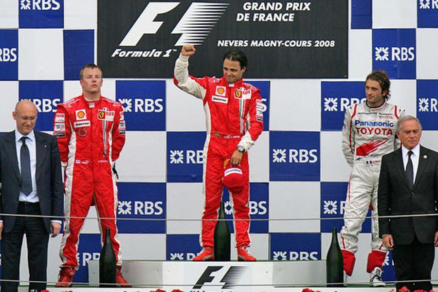 2008 French Grand Prix Felipe Massa