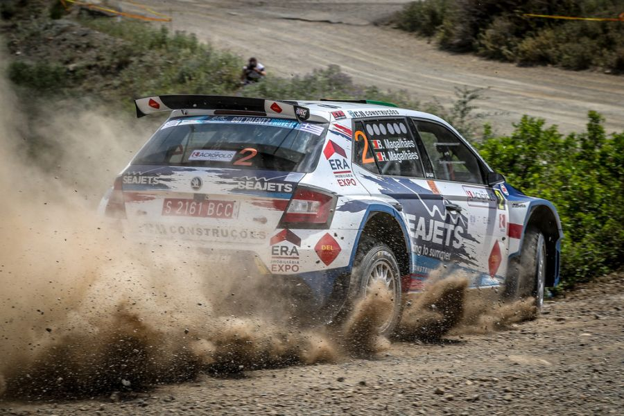 2018 Acropolis Rally, Bruno Magalhaes