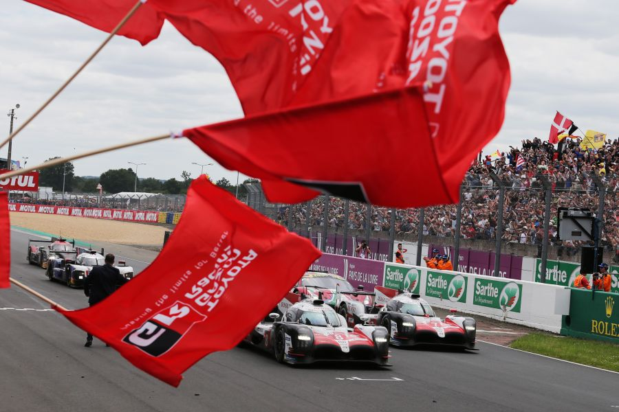 2018 24 Hours of Le Mans, Toyota