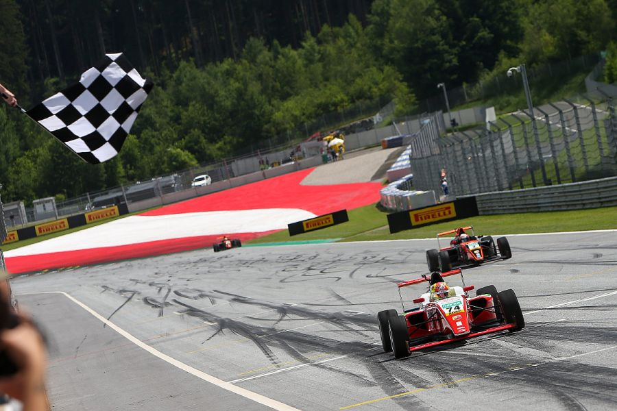 Maiden ADAC F4 victory for Enzo Fittipaldi