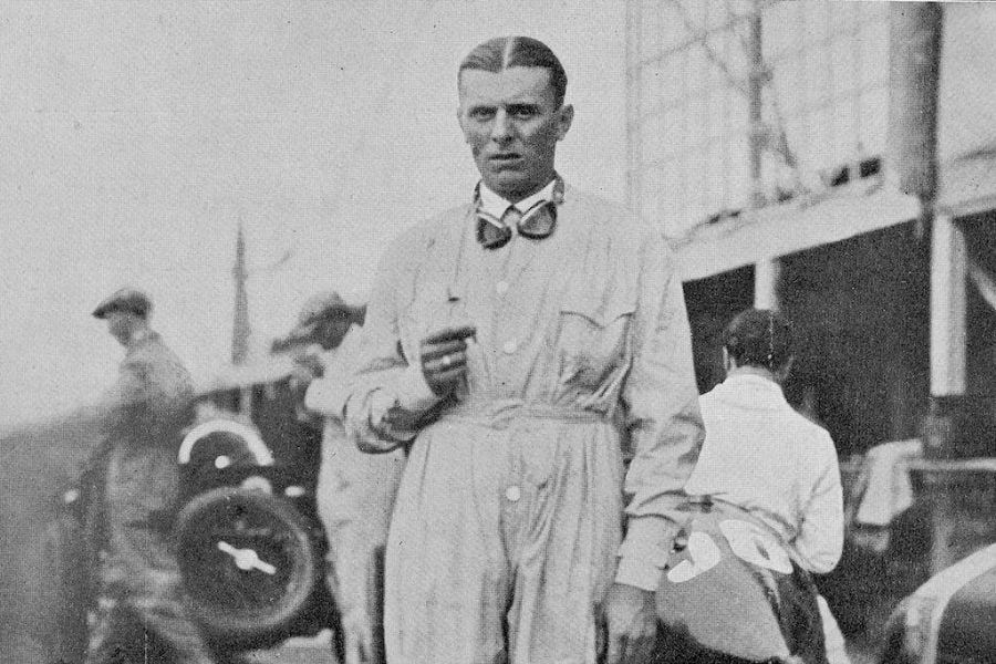 Achille Varzi was one of the pioneers of Grand Prix racing