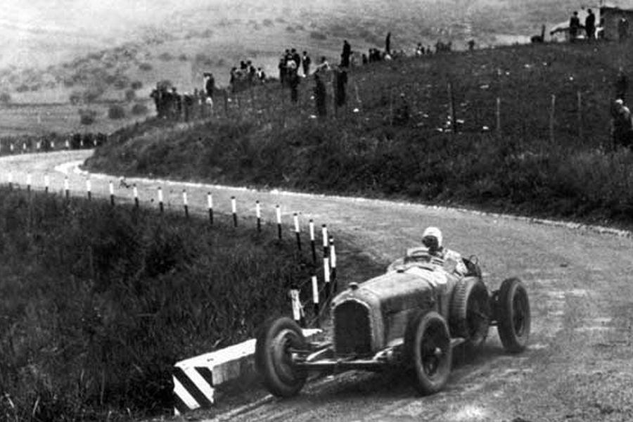 Achille Varzi at 1934 Targa Florio