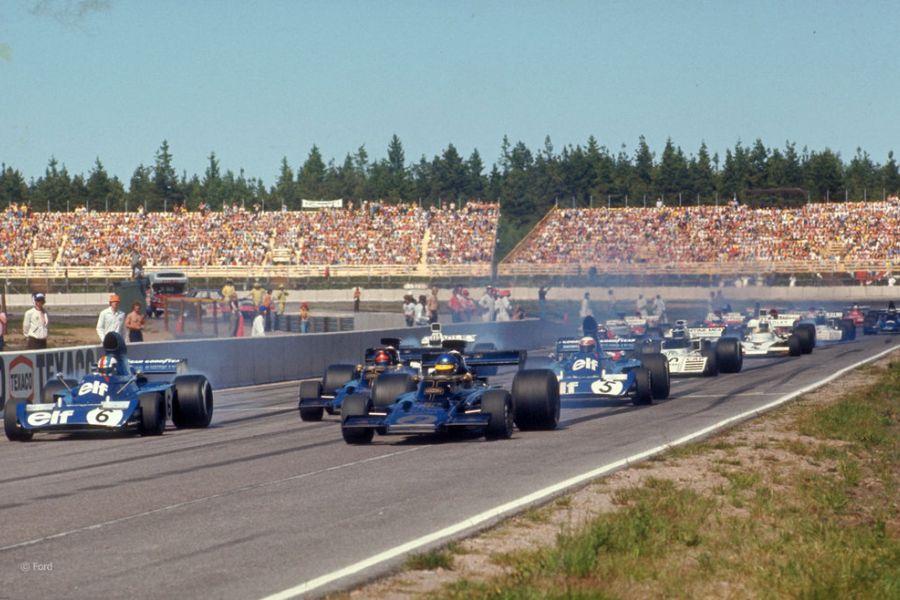 ¸Start of the 1973 F1 Swedish Grand Prix