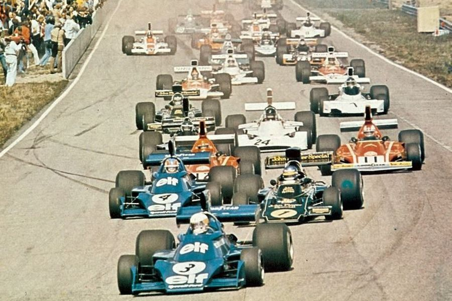 Jody Scheckter won the 1974 Swedish Grand Prix in the #3 Tyrrell