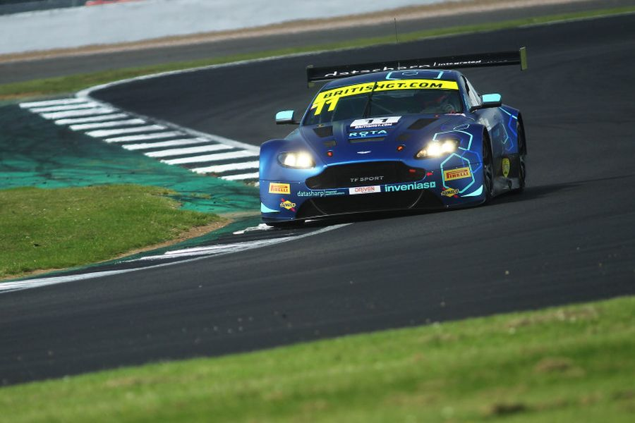 British GT Championship Silverstone #11 TF Sport Aston Martin Vantage