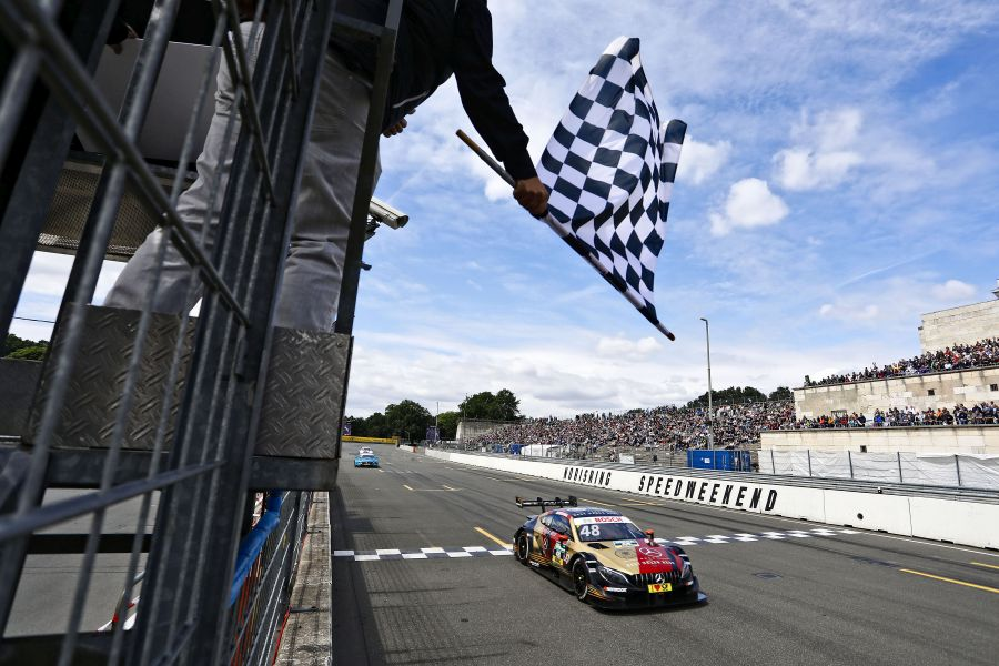 DTM Norisring race 1, Edoardo Mortara