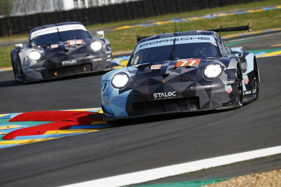 2018 Le Mans 24h, #77 Porsche