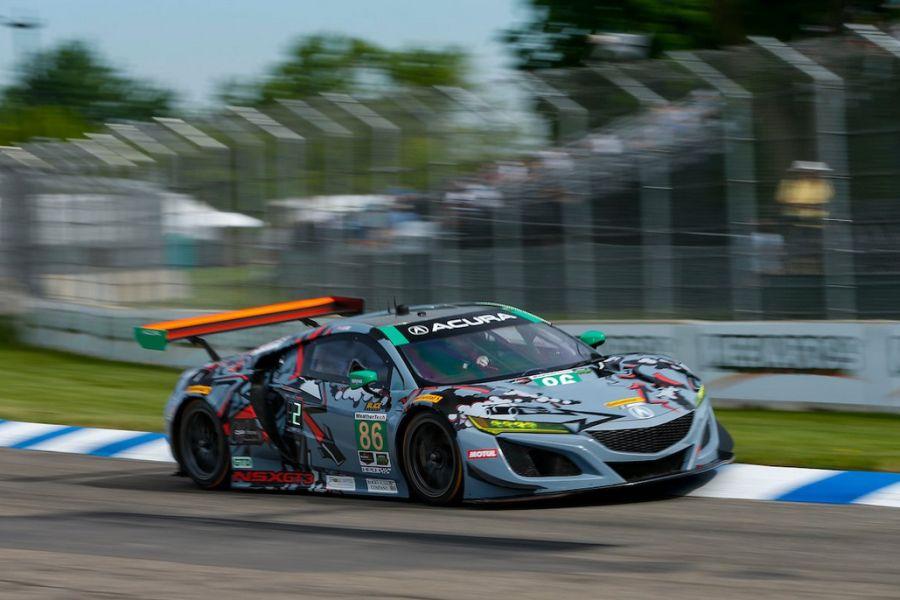 Detroit Grand Prix, GTD class, #86 Acura NSX GT3