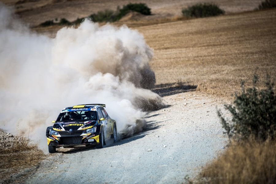 2018 European Rally Championship, Cyprus Rally, Simos Galatariotis
