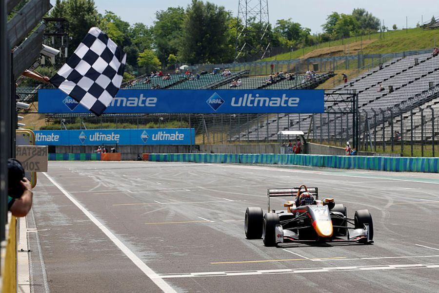 F3 Hungaroring Dan Ticktum