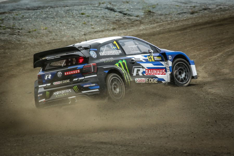 Johan Kristoffersson World RX Norway winner