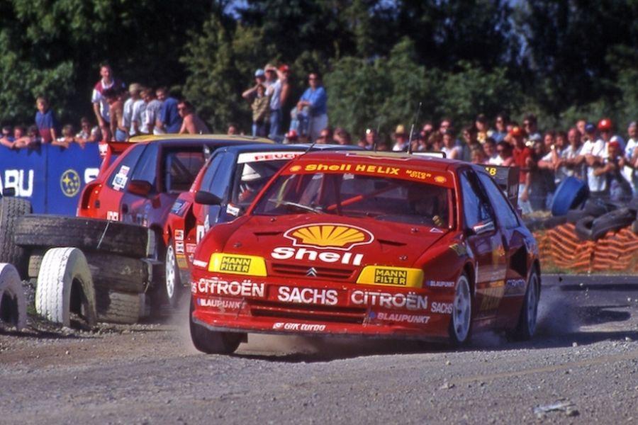 Kenneth Hansen rallycross