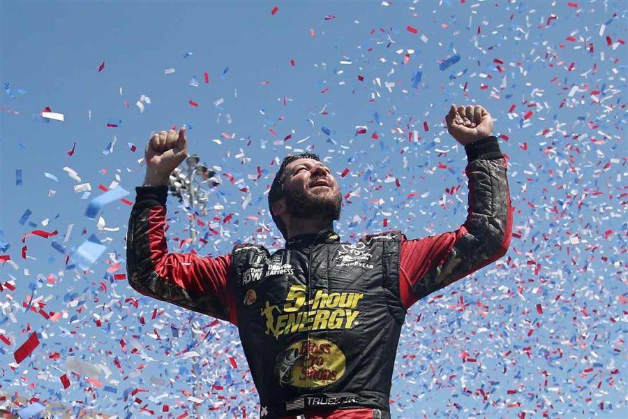 Martin Truex Jr. wins at Sonoma