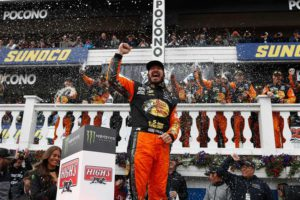 Martin Truex Jr. wins Pocono 400