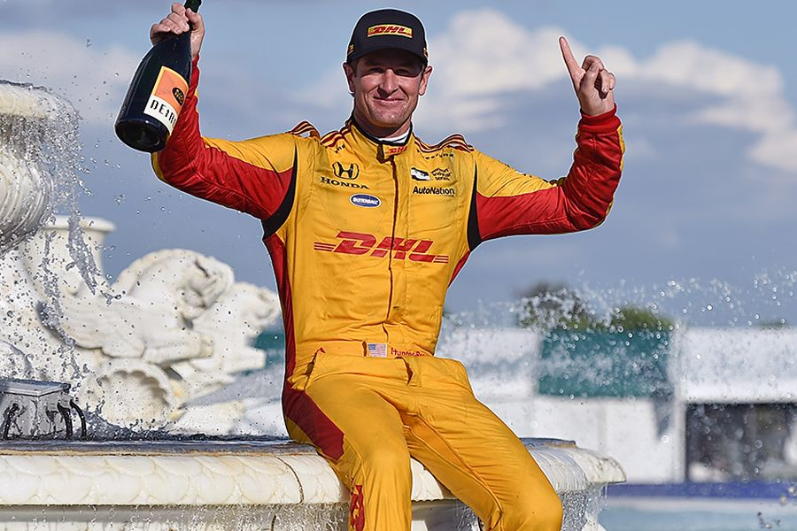 Ryan Hunter-Reay wins Detroit Grand Prix